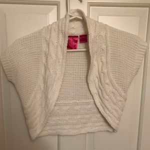 Mini White Dress Sweater